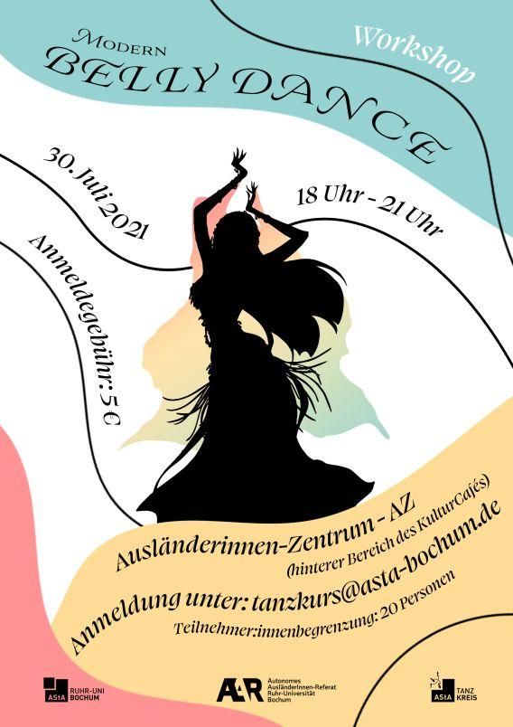 Modern Bellydance Workshop –  Bodymovement, Isolation & Choreography für Beginner:innen
